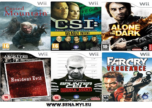 M Rated Wii Games