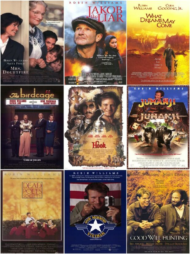 Robin Williams Movies Collection
